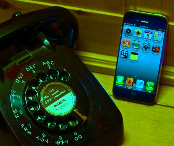 generation differencs: rotary v smartphone