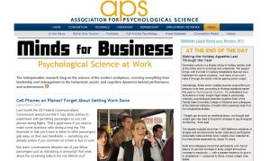 Minds for Business blog