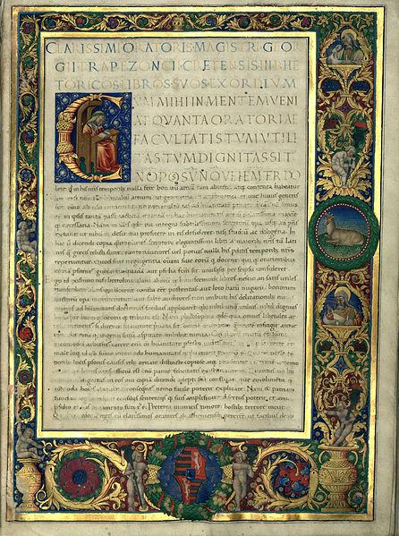 Trapezuntius_Rhetoricorum_libri_corvina