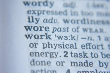 Work-word-dictionary