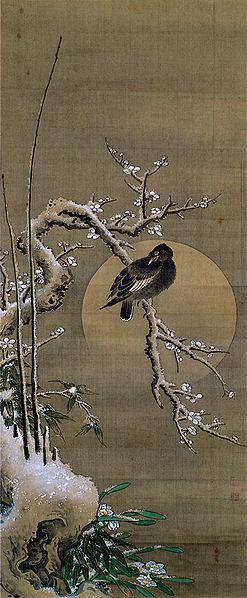 Ohara Keizan - Plum Tree in Snow