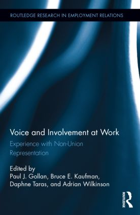 Voice and Involvement at Work Book Cover