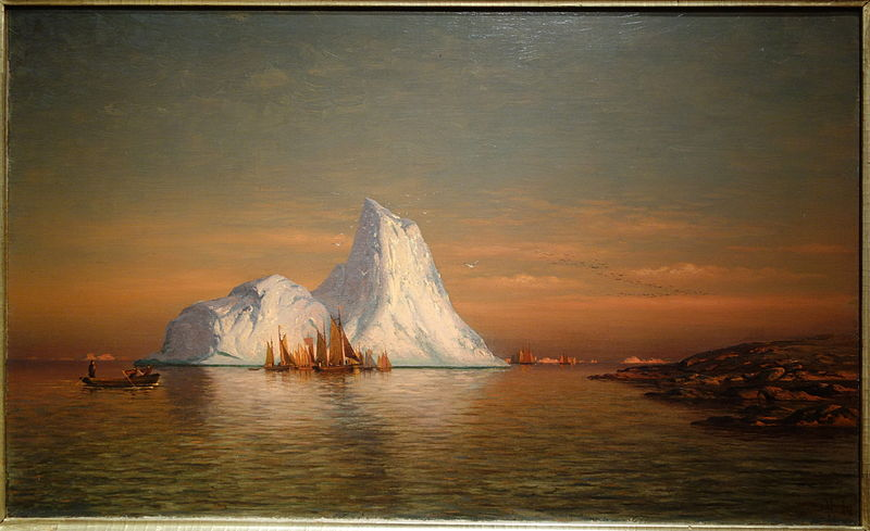 William Bradford - Fishing Fleet off Labrador
