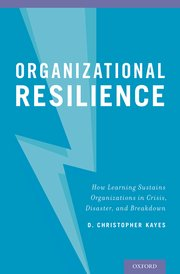 Organizational Resilience Cover