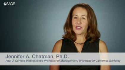 Jennifer Chatman Organizational Culture Video Snip